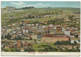 Palestina - Nazareth - General View. - Palestina