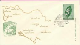11th Mountaineers Rally Of (post Workers) In Vugrovec, Sesvete, 4.7.1963., Yugoslavia, Cover - Climbing