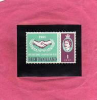 BECHUANALAND 1965 INTERNATIONAL COOPERATION MNH - Bechuanaland (...-1966)