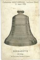 CP32  Lectoure - Bernadette Cloche De 800 Kilogs De La  Cathédrale Saint Gervais - Lectoure