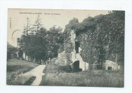 Rochefort-en-Terre (56) : Les Ruines Du Château En 1905 (animé). - Rochefort En Terre