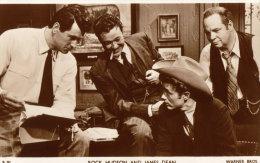 Rock Hudson & James Dean In ´Giant´.   Warner Bros.   Picturegoer Card D 904.        RPPC.        (s645). - Entertainers