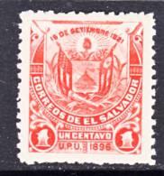 El Salvador  170 A  Original  *  No Wmk. - El Salvador