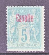 CAVALLE  1  Fault   * - Cavalle (1893-1911)