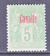 CAVALLE  2  Type  II   * - Cavalle (1893-1911)
