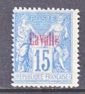 CAVALLE  4    * - Cavalle (1893-1911)