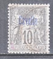 CAVALLE  3   Type  II  (o) - Cavalle (1893-1911)