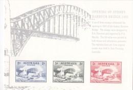 Australia 1932 Sydney Harbour Bridge Opening Replica Card No. 23 - 1913-36 George V: Sonstige Abb.