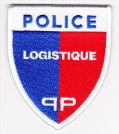 Ecusson Police -- Logistique -- PP -- Neuf -- Obsolète - Police & Gendarmerie