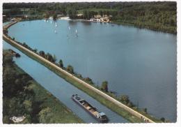 Pargny - Filain - Lac De Monampteuil Et Le Canal (péniches, Voie Ferrée, Voiliers) Pas Cirulé, Cpsm 10.4x14.8 - Altri Comuni
