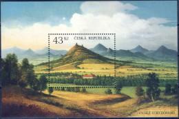 ##Czech Republic 2009 [59]. Mountains. Michel Block 37. MNH(**). - Blocks & Sheetlets