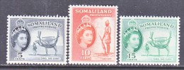 SOMALILAND  128-30   ** - Somaliland (Protectorate ...-1959)