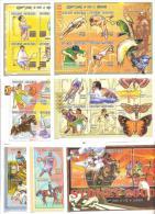 1999 MADAGASCAR OLIMPIC GAMES SYDNEY MNH (YVERT 1791A/Z+BF128) SHEETS - Zomer 2000: Sydney