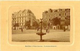 Nantes. La Place Viarmes Et La Fontaine Abreuvoir. - Nantes