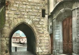 SOMMIERES    624   LA PORTE DE LA TOUR DE L'HORLOGE ET PORTE DE L'ANCIENNE MAISON CONSULAIRE - Sommières