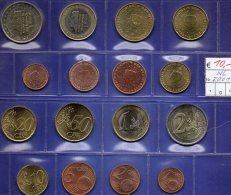 Stempelglanz Niederlande EURO-set 2001 Beatrix Stg 30€ Staatlichen Münze Prägeanstalt Den Haag 1C.-2€ Set Coin Nederland - Pays-Bas
