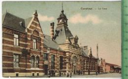 Turnhout, La Gare 1916Verlag: Gevers-de La Costa, FELD-,Postkarteohne Frankatur  Mit Stempel, 1.12.16Briefst. I. LANDSTU - Turnhout