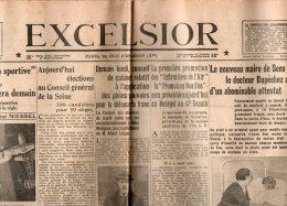 Excelsior Du Dimanche 26 Mai 1935 - Informations Générales