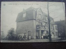 VILVOORDE - Pavillon Du Club Au Pont Brulé. Cercle De Voile  En 1936 - Vilvoorde