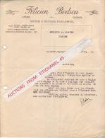 Lettre 1942 - VILLERS L'EVEQUE - FELICIEN BODSON - Matières Alimentaires Pour Le Bétail - Grains - Graines - Sin Clasificación