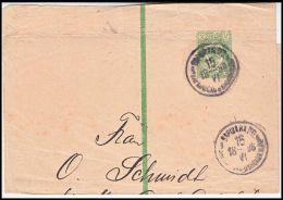 Russia 1896, Cover To Leipzig - Brieven En Documenten