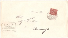 1893 CENT.2 BEL ANNULLO SIENA E RETRO ANN. SINALUNGA - 1878-00 Umberto I