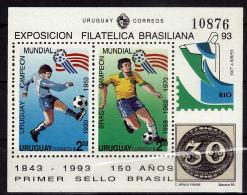 URUGUAY   BF  * *  Cup 1994  Football  Soccer  Fussball - 1994 – Stati Uniti