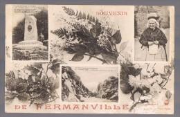 SOUVENIR DE FERMANVILLE . - Frankreich