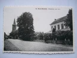 Ma Réf: 55-6-7.        SINT-MARIA-HOREBEKE                       Dorpstraat Met Kerk. - Horebeke