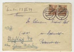 Berlin Michel No. 65 gestempelt used auf Brief