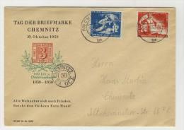 DDR Michel No. 273 - 274 gestempelt used auf Brief