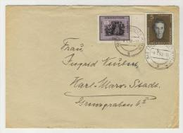 DDR Michel No. 700 , 715 gestempelt used auf Brief