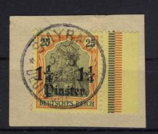 Deutsche Post T�rkei Michel No. 27 gestempelt used