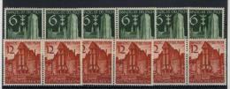 Lot Deutsches Reich Michel No. 714 - 715 * ungebraucht , leicht gehangen