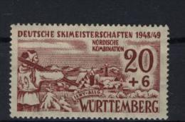 W�rttemberg Michel No. 39 x ** postfrisch