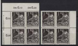 8x DDR Michel No. 405 ** postfrisch