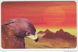 Y] Télécarte Phonecard Kazakhstan Aigle Oiseau De Proie Rapace Eagle Bird Of Prey - Aquile & Rapaci Diurni