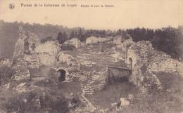 LOGNE : Ruines De La Forteresse - Donjon Et Cour Du Donjon - Stavelot
