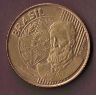 BRASIL 25 CENTAVOS 2000 - Brésil
