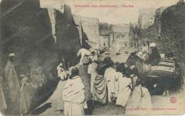 1908 ALGERIE.KENADSA.UNE RUE EXTREME SUD ORANAIS , Old Postcard - Algeria