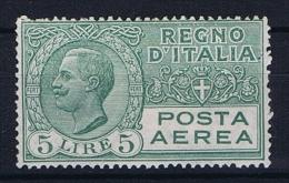 Italy: Mi 233 /  Sa  A7  Not Used (*) 1926 - 1900-44 Victor Emmanuel III