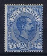 Italy: Pacchi Postali  Mi 2 /  Sa  2 , Not Used (*)