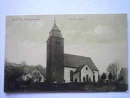GRUSS  Aus  THALEISCHWEILER  :  Kirche Mit Partie - Other
