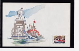 F 2005  Les Joutes Nautiques, Feuillet Reprenant Le Timbre YT 3767 Neuf** + Documents Sète - Briefmarken