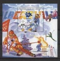 Olympische Spelen  1998  , Niger - Blok Postfris - Winter 1998: Nagano