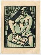 EX LIBRIS Z KNIH ANT. KODESE ANNO 1928 - Ex Libris