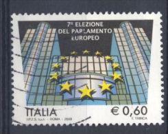 Italia Italie Italy  2009 Usato -  Elezione Del Parlamento Europeo - 2001-10: Usati