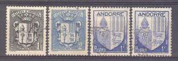 Andorre Yvert 47/8 + 119, Armoiries; Oblitérations Choisies D´époque!!!  Voir Scan - Andorre Français
