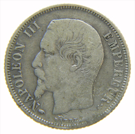 FRANCIA FRANCE 1 FRANC 1860 A - E. 20 Centesimi