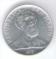 SAN MARINO 2 LIRE 1972 - San Marino